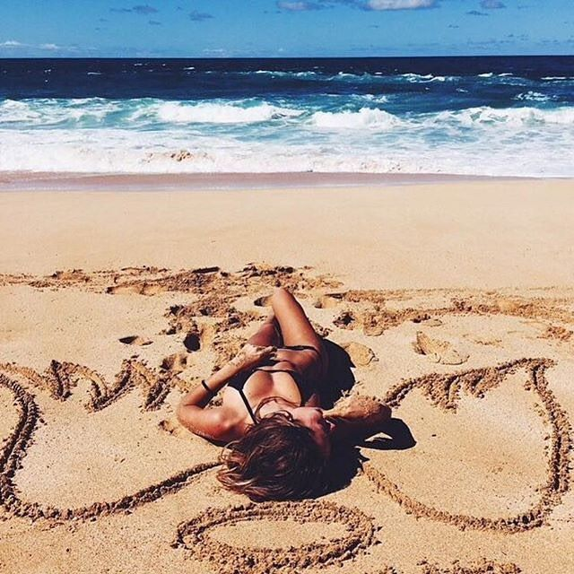 No other place we would rather be #BeachLife #LadyLuxSwimwear #LadyLux