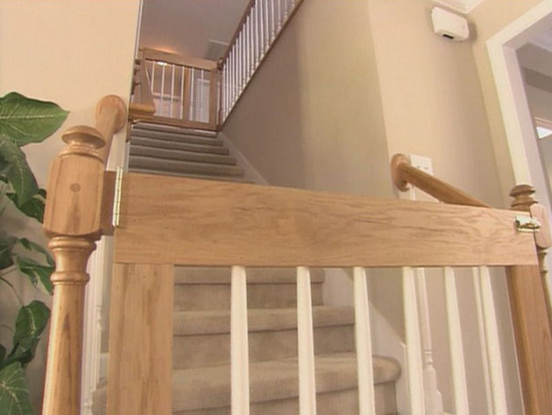 Phillips Barton Bailey How To Build A Customized Baby Gate : How To : DIY  Network