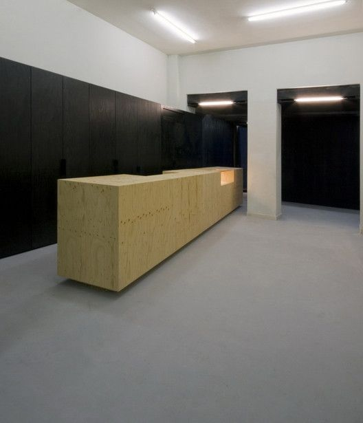 MiNO, Migliarino Hostel   Antonio Ravalli Architetti - küche weiß braun