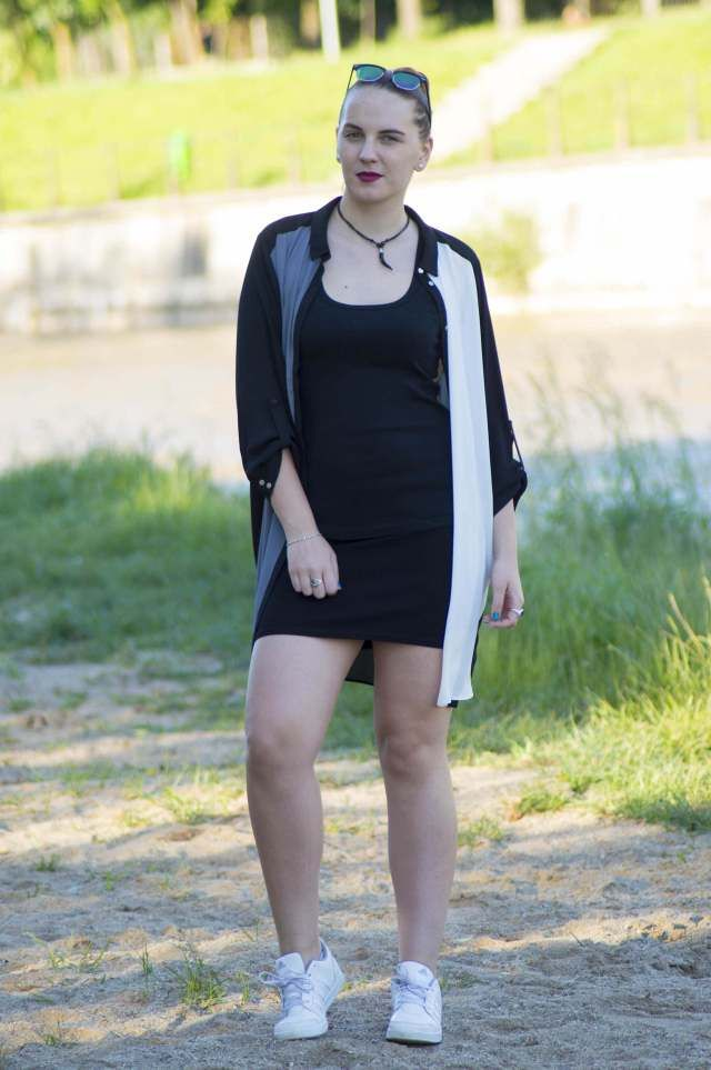ootd edgy look - 5 ways to look more confident