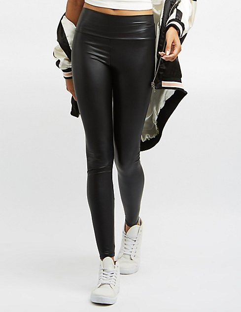 shop for authentic coupon code super service High-Waisted Liquid Leggings | fashion | High waisted ...