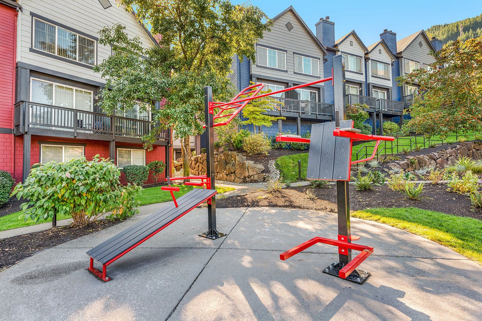 Take Your Workout Outside With Our Outdoor Crossfit Gym Equipment Arrivenorthbend Wa Apartments Ihavearr Apartment Communities North Bend Luxury Townhomes