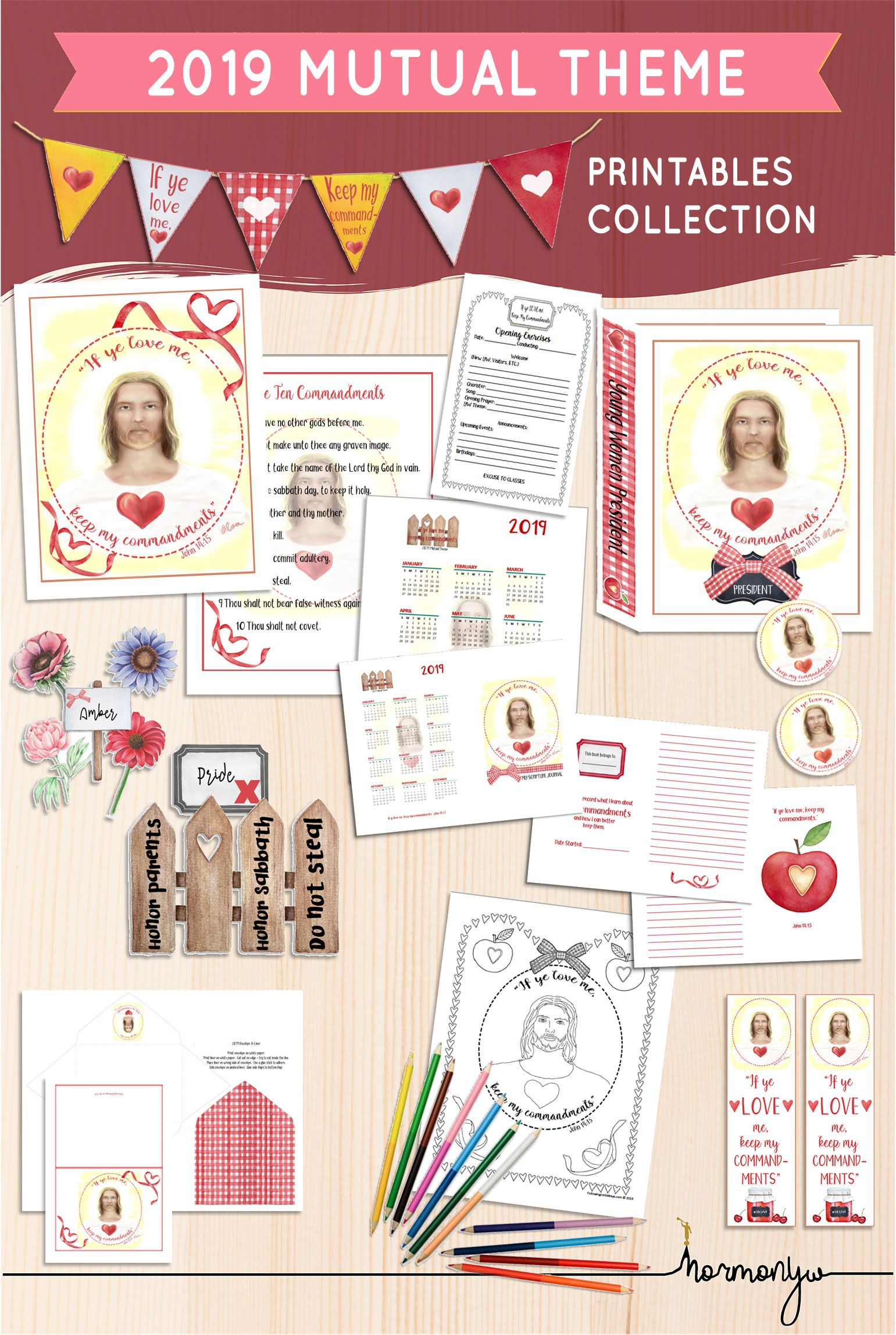 Beautiful Printables Helps Activites For Lds Young Women Mutual Themes Mutual Theme
