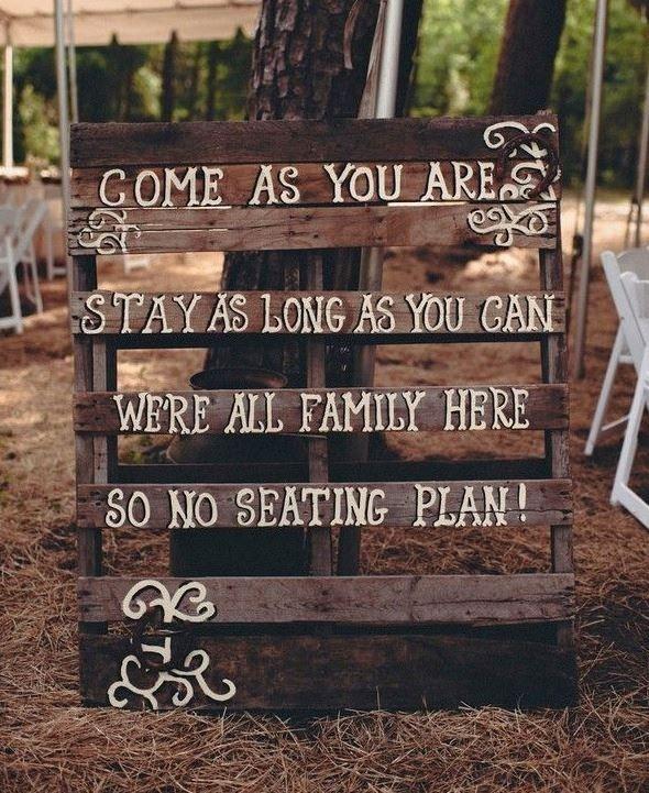 Wedding Signage Ideas: DIY FRIDAY. 10 Wedding Signage Ideas That You Could