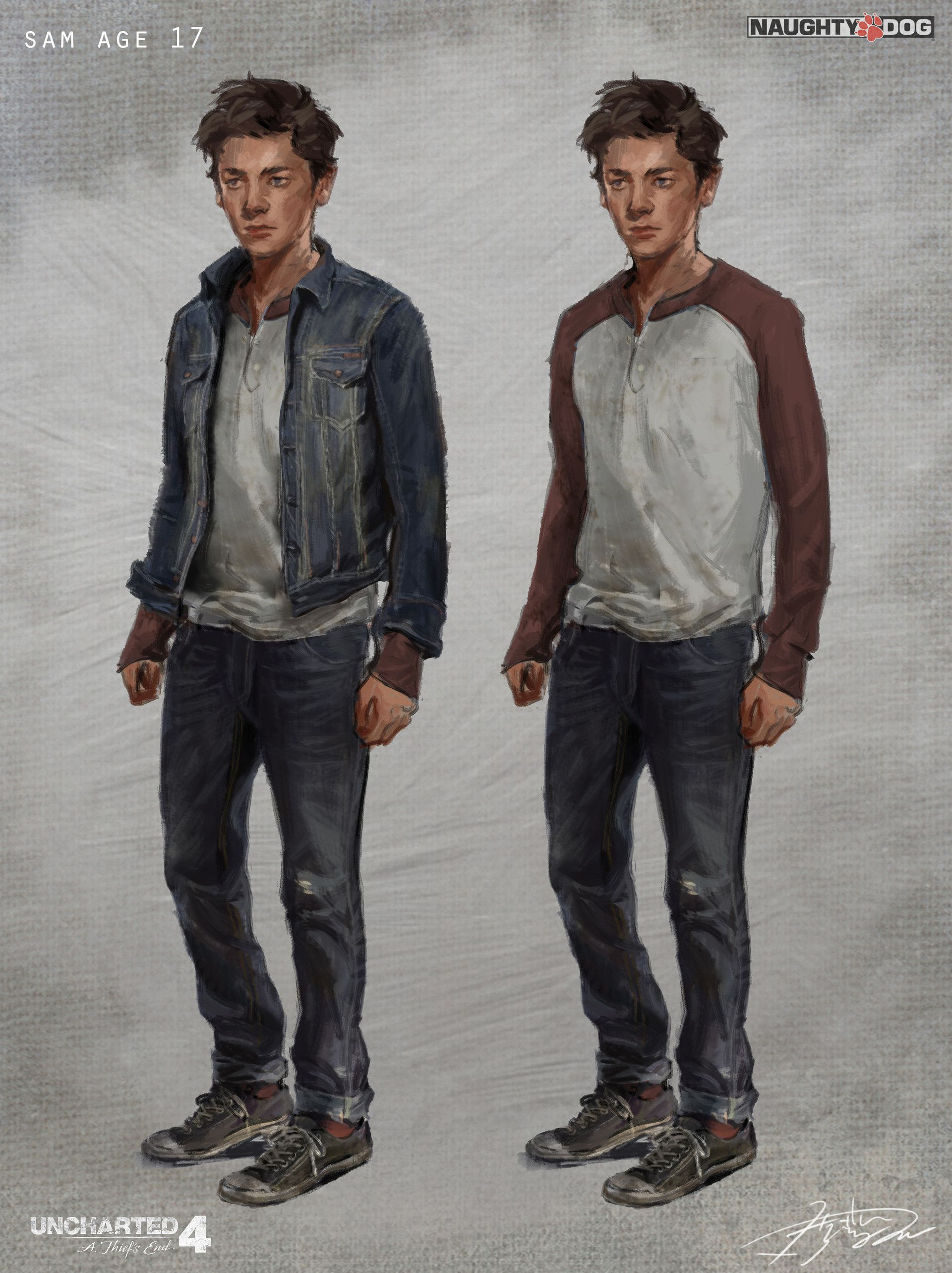 ArtStation - Uncharted 4: Young Sam, Hyoung Nam