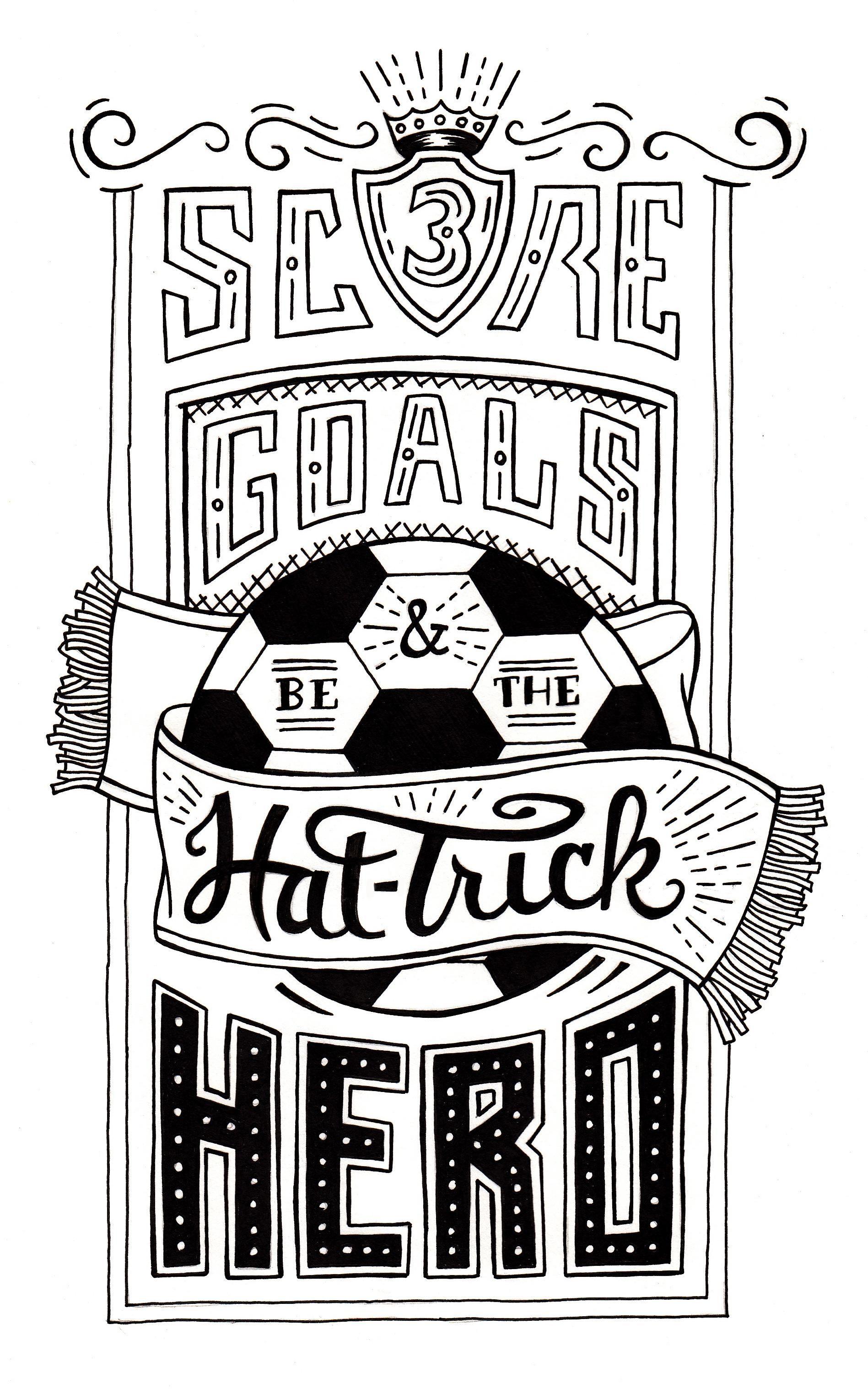 Hat Trick Hero By Trey Ingram Skillshare Hand Lettering Logo Hand Lettering Lettering
