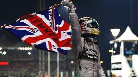 'An incredible achievement as Lewis Hamilton becomes two-time World Champion'  November 24, 2014