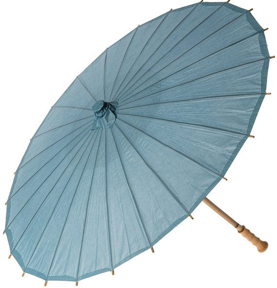 Wedgwood Pale Grey Gray Blue Lagoon Large 32 Premium Japanese Rice Paper Parasol Parasols Umbrella Outdoor Wedding Party Picture Decor Prop #largeumbrella