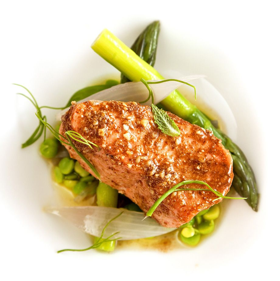 Sous Kitchen: Salmon Cooked Sous Vide In The Kitchen Sink, From