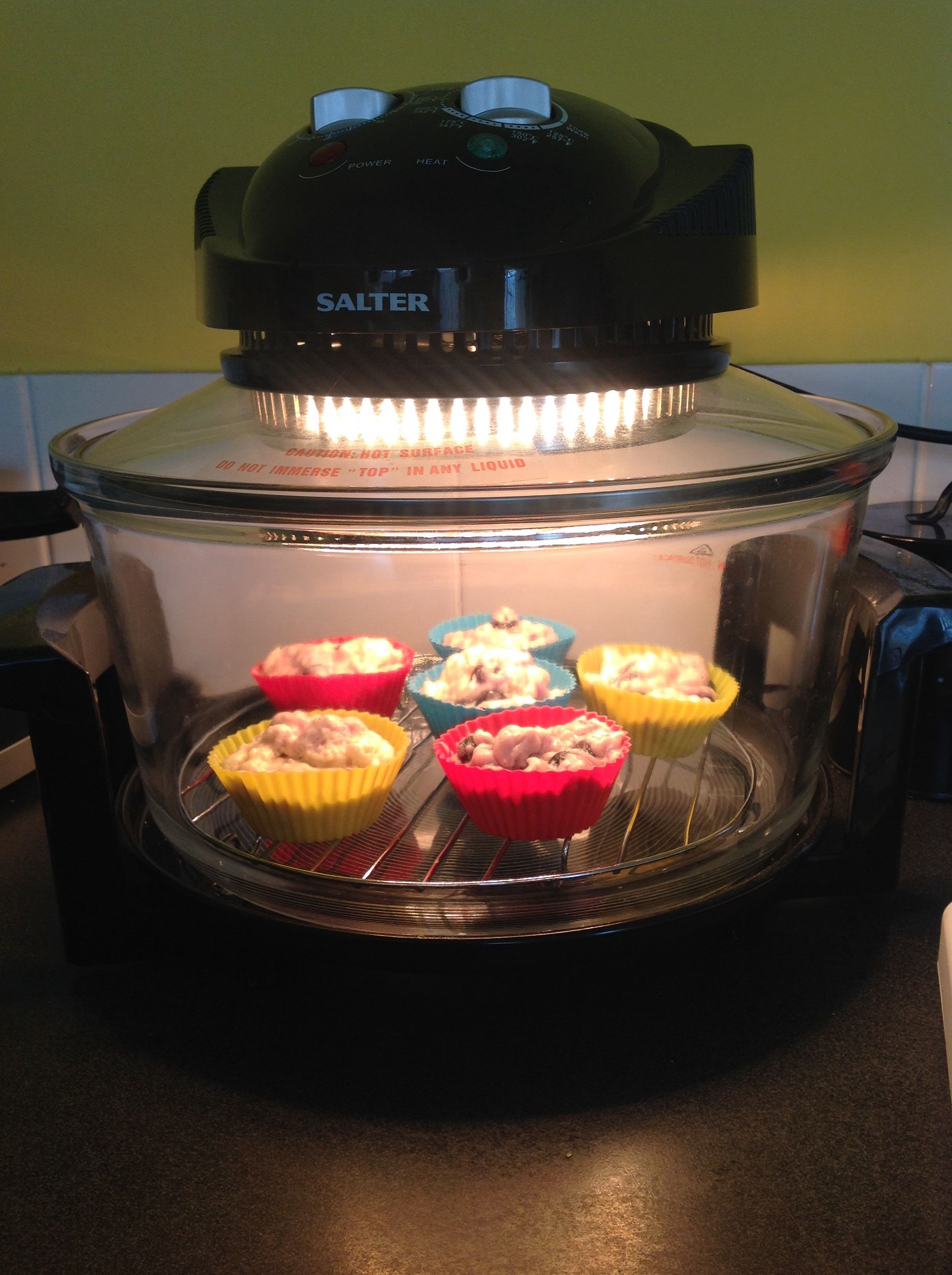 Cook Blueberry Muffins In Your Halogen Oven In 12 15 Mins Please