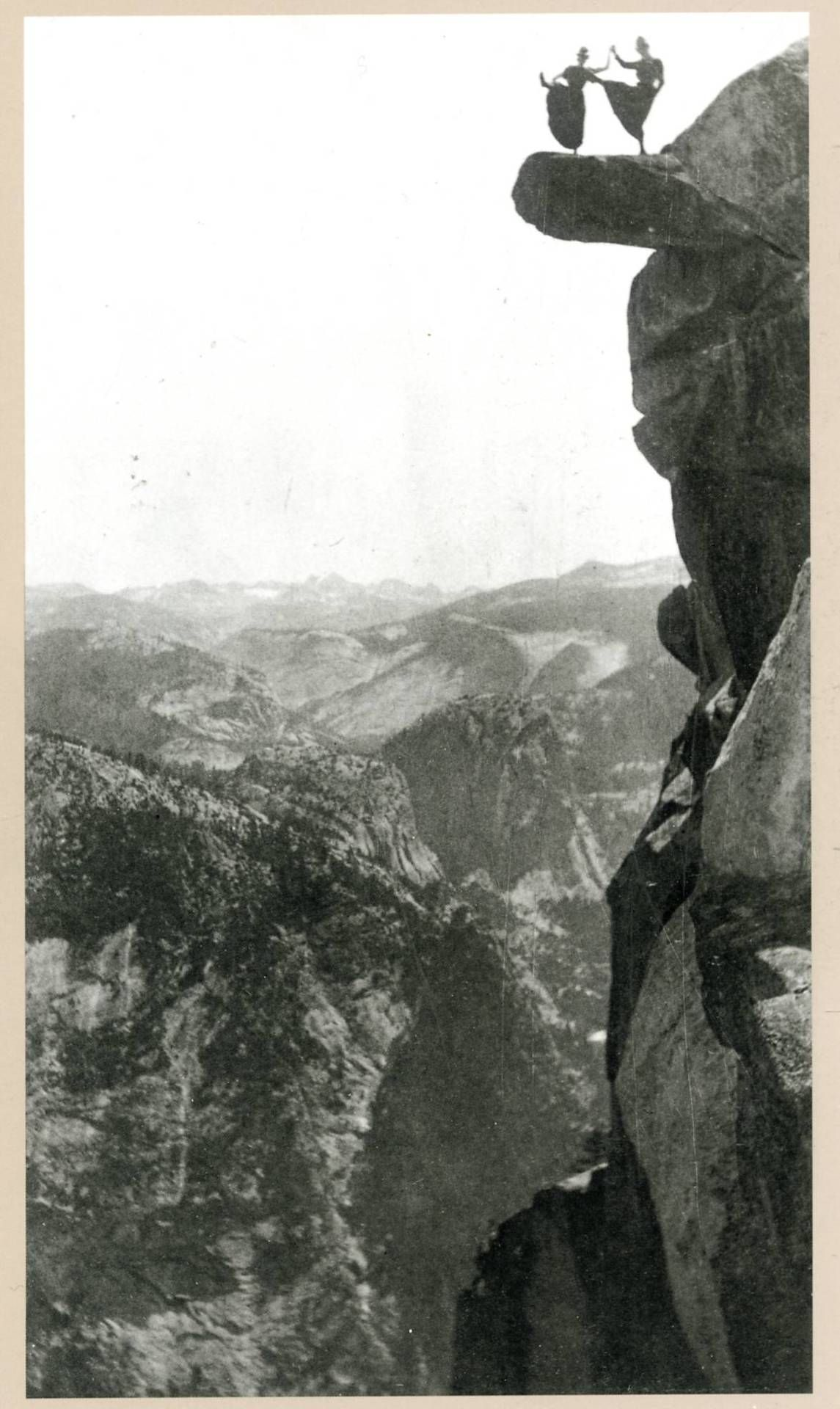 you name it..  Dancing ladies on overhanging rock, 1890s by George Fiske,   thank you forgottenway
