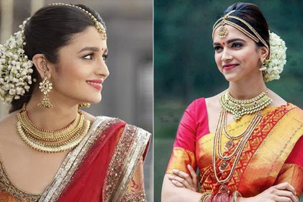 Traditional look for wedding