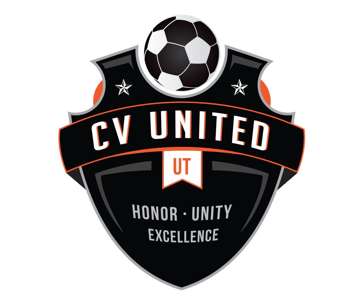 Custom Soccer Logo Design For Cv United Soccer By Jordan Fretz Design Basketball Logo Design Football Logo Design Soccer Logo