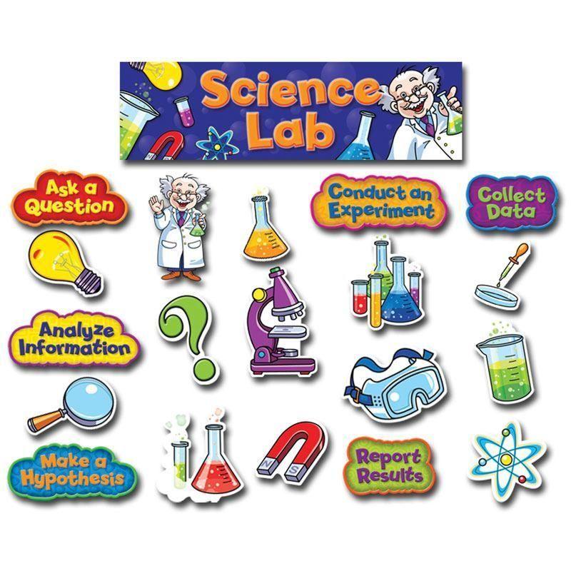 Science Lab Mini Bulletin Board Set Homeschool -- Wish List