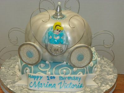 Cinderella Pumpkin Carriage Cake Cakes Cupcakes MiniCakes Photos