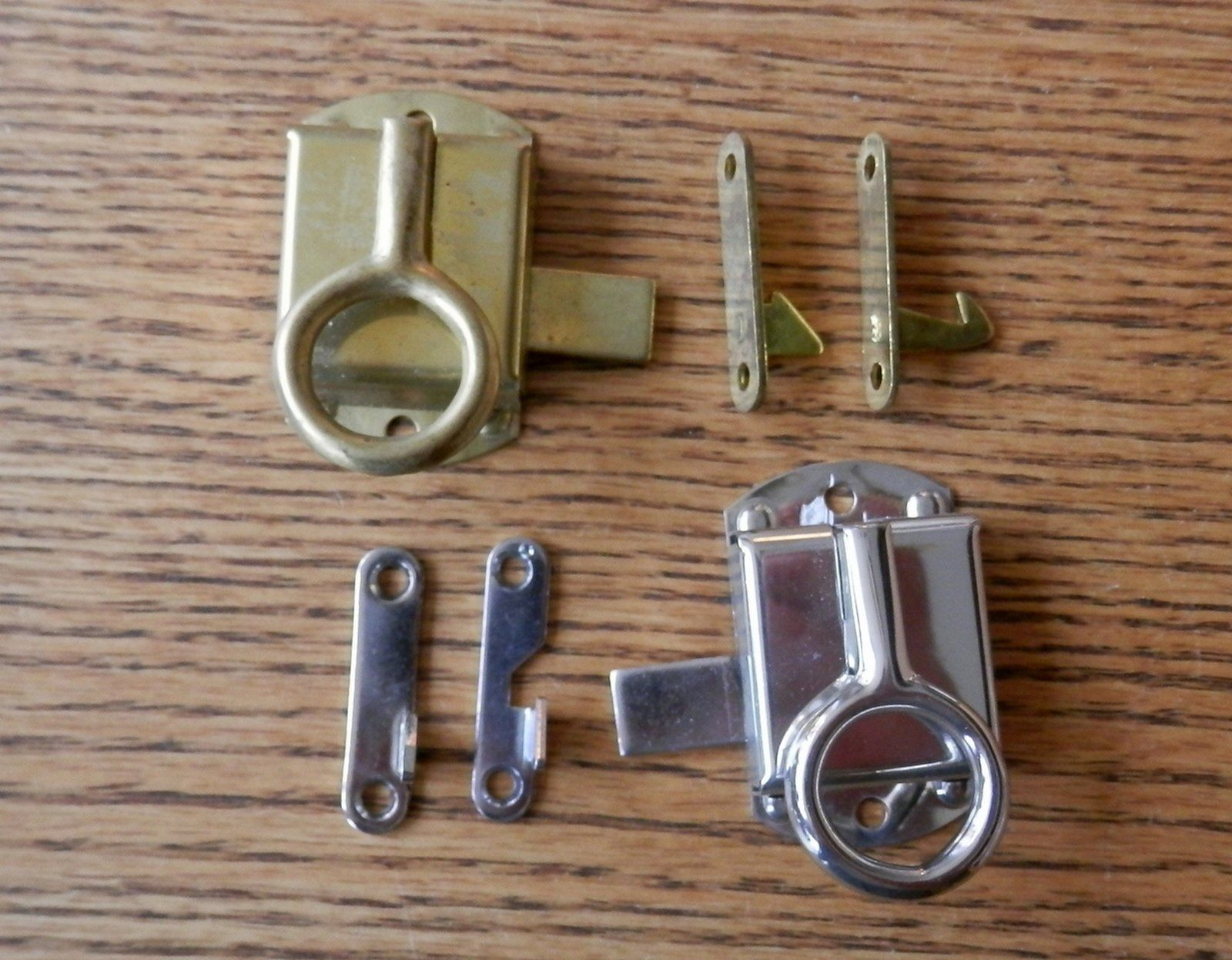 Cabinet Latch Boone Sellers Napanee Brass For Flush Mount Doors Right