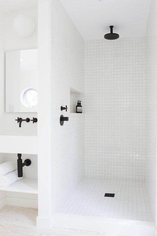 Get A Dark Fix Black Hardware Inspiration Bathroom Pinterest