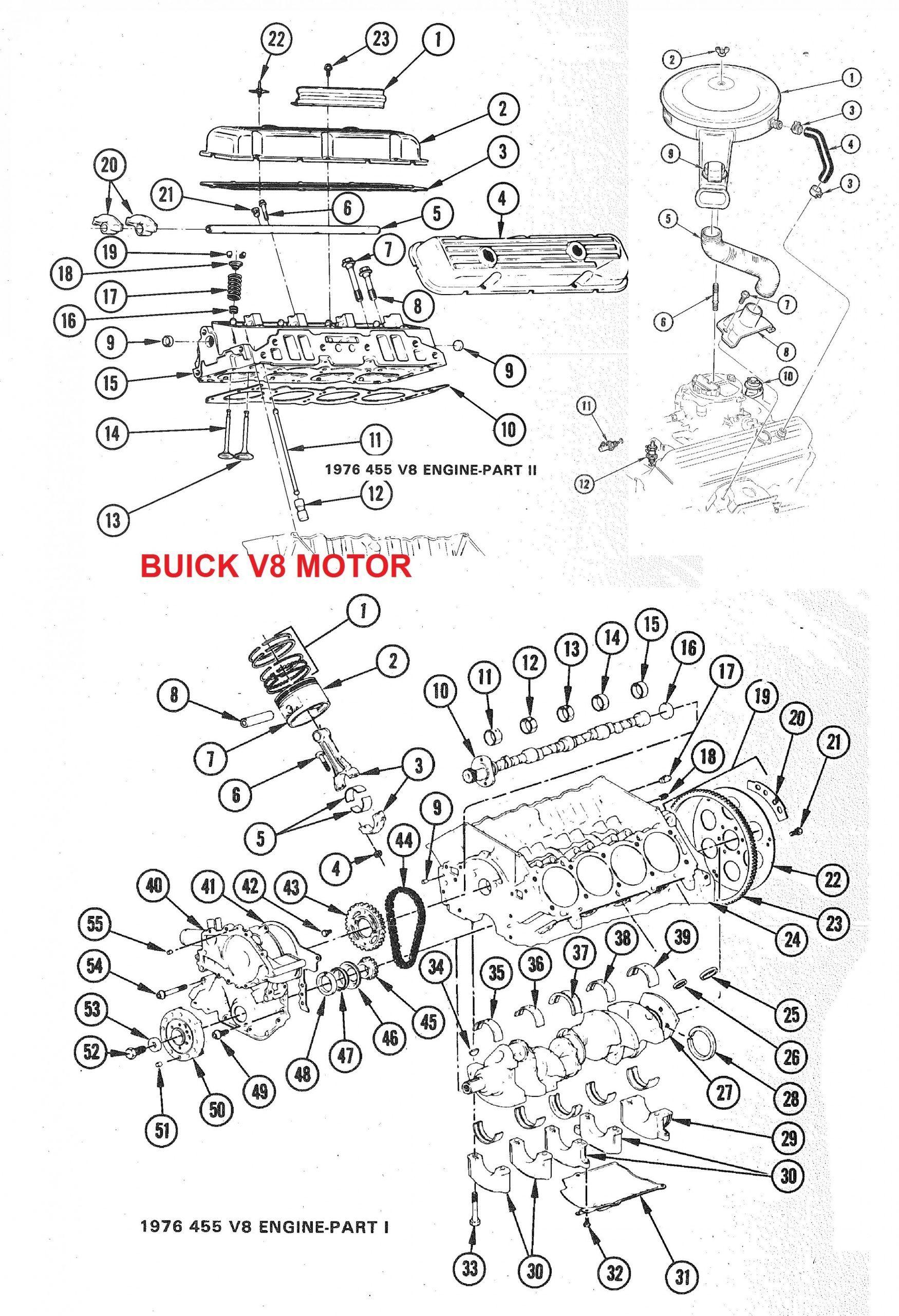 V6 Engine Parts Diagram In
