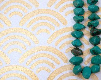 Disegni Per Dipingere Le Pareti : Scallop moderna parete stencil capesante onda curva disegni per