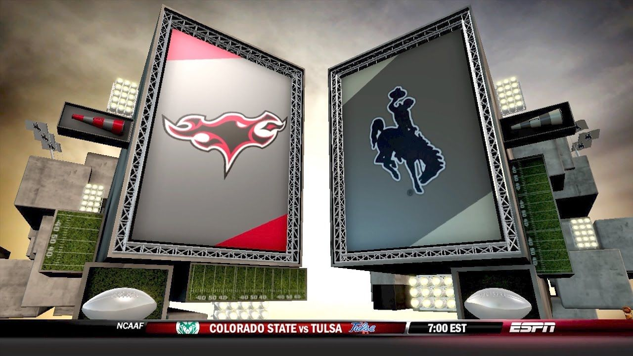 In State Rivalry Ncaa 14 Teambuilder Dynasty Phoenix Vs Cowboys Tulsa Tablet Rivalry