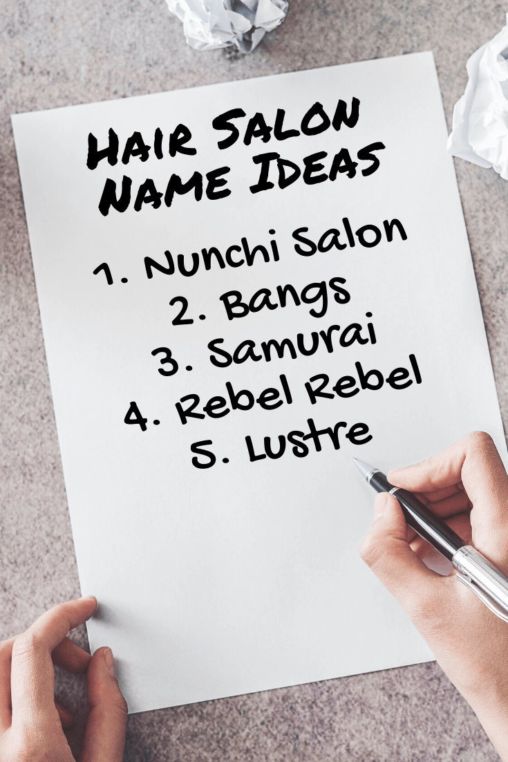 20 Truly Unique & Creative Hair Salon Names: The Ultimate List
