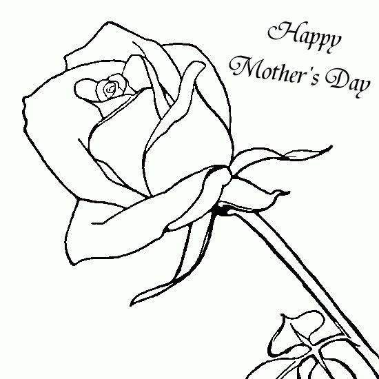 Happy Mothers Day Coloring Pages Free Letmehit