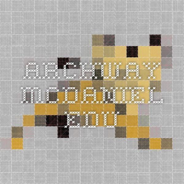 archway.mcdaniel.edu