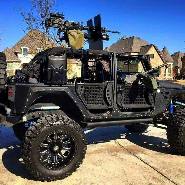 Jeep With 50 Cal Offroad Vehicles Trucks Jeep Cars