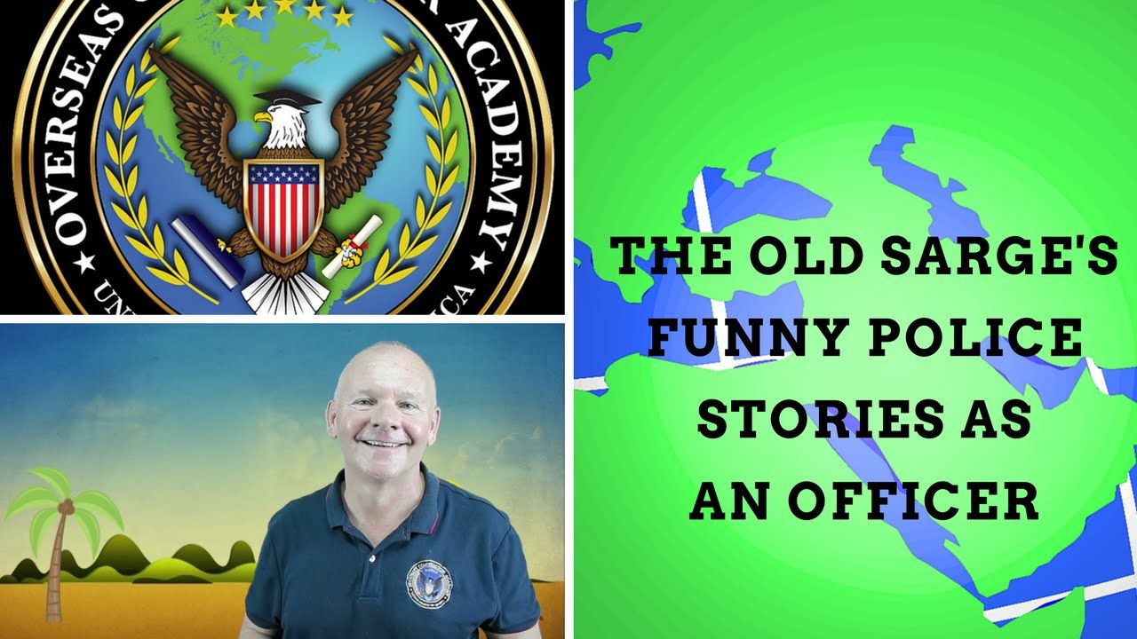 The Old Sarge is back to share a few stories from his days