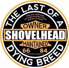The Last of a Dying Breed Shovelhead T-Shirt Shovelhead Shirt