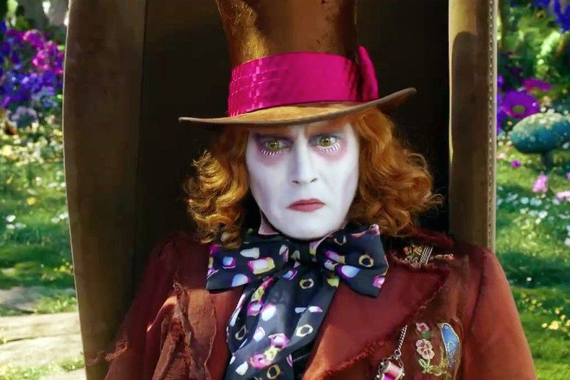 Alice Through The Looking Glass Trailer 2 Starring Johnny Depp