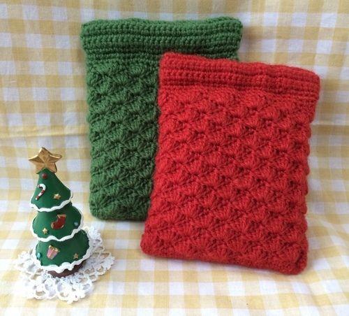 松編みのバネポーチの作り方 編み物 編み物 手芸 ソーイング