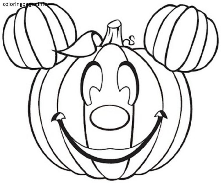 Cute Halloween Pumpkin Coloring Pages Pumpkin Coloring Pages
