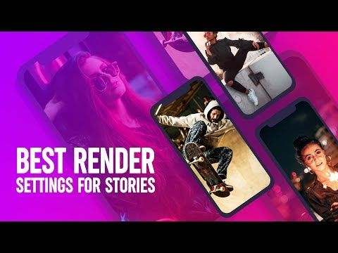 Best render option after effects