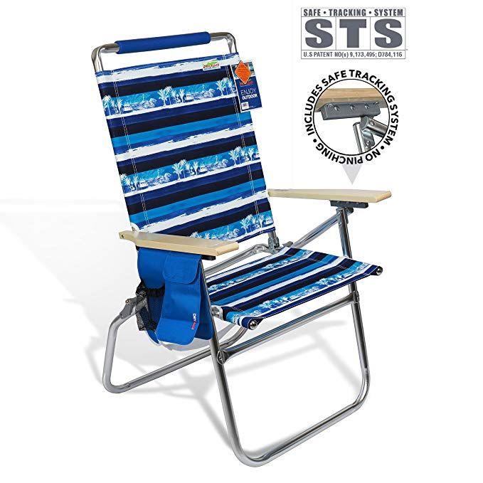 Brilliant High Seat Beach Folding Chair Lightweight Alumium Frame Theyellowbook Wood Chair Design Ideas Theyellowbookinfo