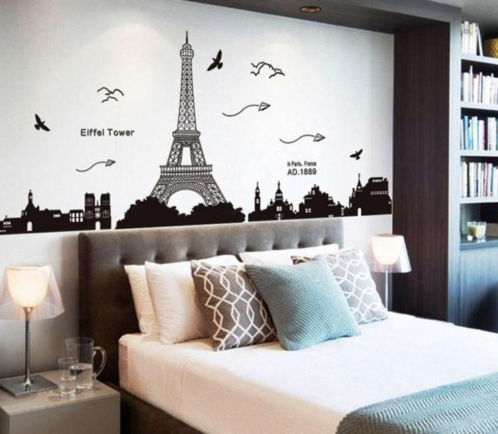 Paris Themed Living Room Modern Curtain Styles Ideas Home Design And Decor Child Teen Bedroom Day Bed Pink Black Behr Ultra Fresh