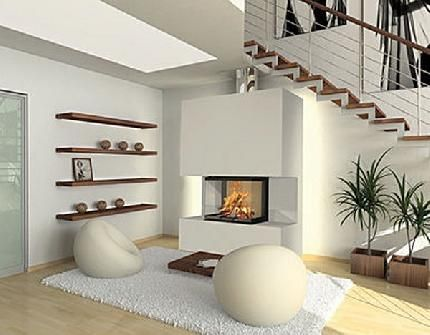 Modele De Cheminée Moderne - Google Search | New House Ideas
