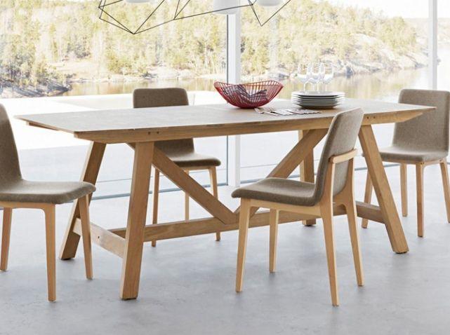 Table rallonges bois ampm Cuisine Pinterest Salons