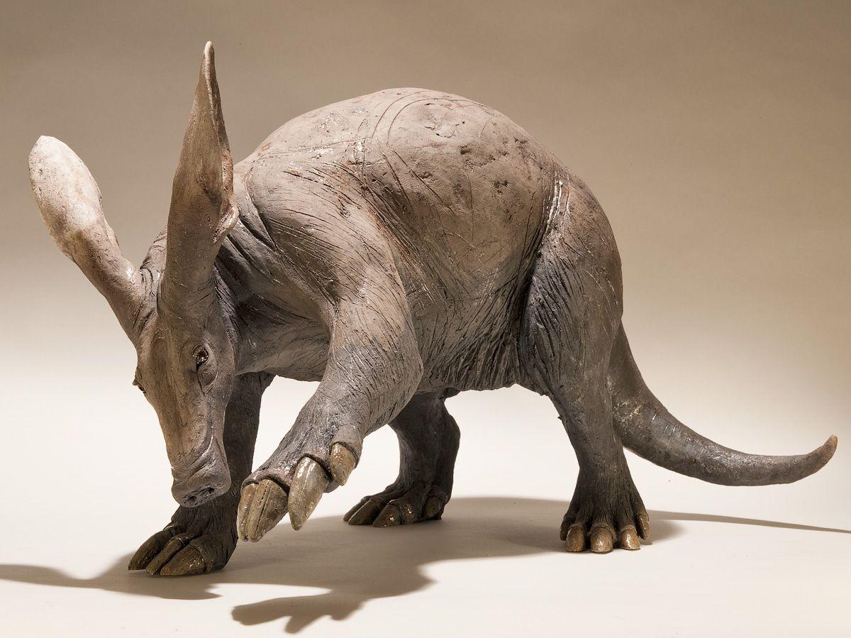 Aardvark Sculpture - Nick Mackman Animal Sculpture ...
