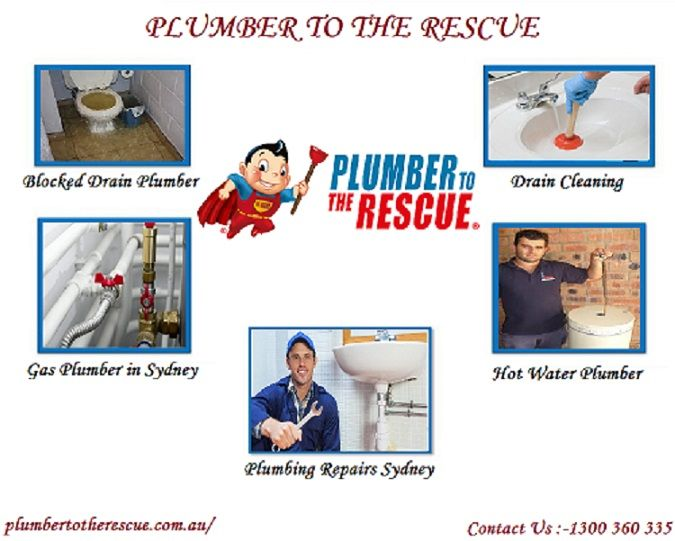 Plumber To The Rescue Will Be With You