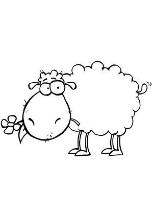 Http Www Ausmalbilder Eu Tiere Schafe Pummeliges Schaefchen Html Schaf Zeichnen Schafe Malen Tiere Malen
