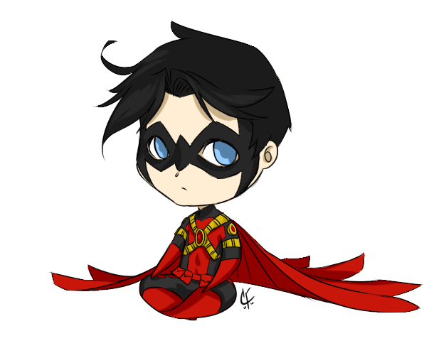 Robin chibi: Tim Drake by CassperClearie on DeviantArt   Superheros