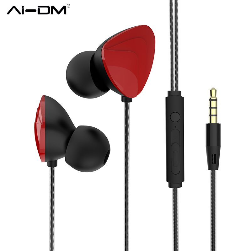 39 Off Aidm P2 Wired Earphone 3 5mm Jack Standard Stereo Music Headset Earbuds Noise Canceling With Microphone For Girl In E Headset Noise Cancelling Consumer Electronics