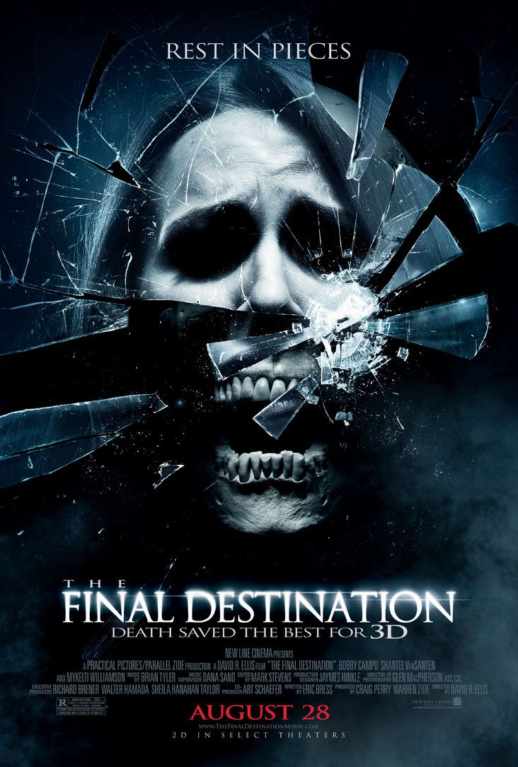 The Final Destination Creepiest Horror Movies Final Destination Movies Horror Movie Posters