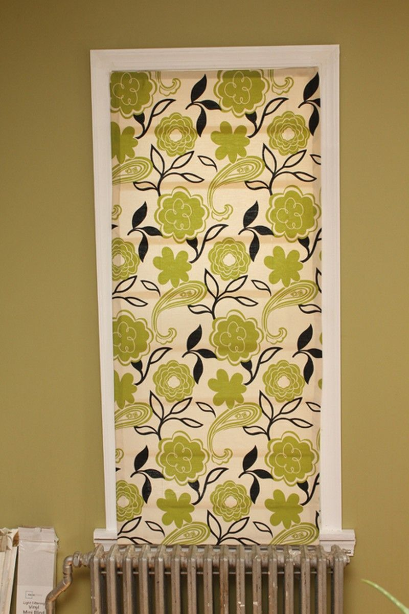 How To Turn Old Window Blinds Into Roman Shades Diy