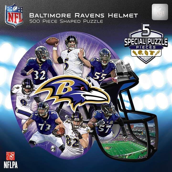 Baltimore Ravens 500Piece Helmet Puzzle