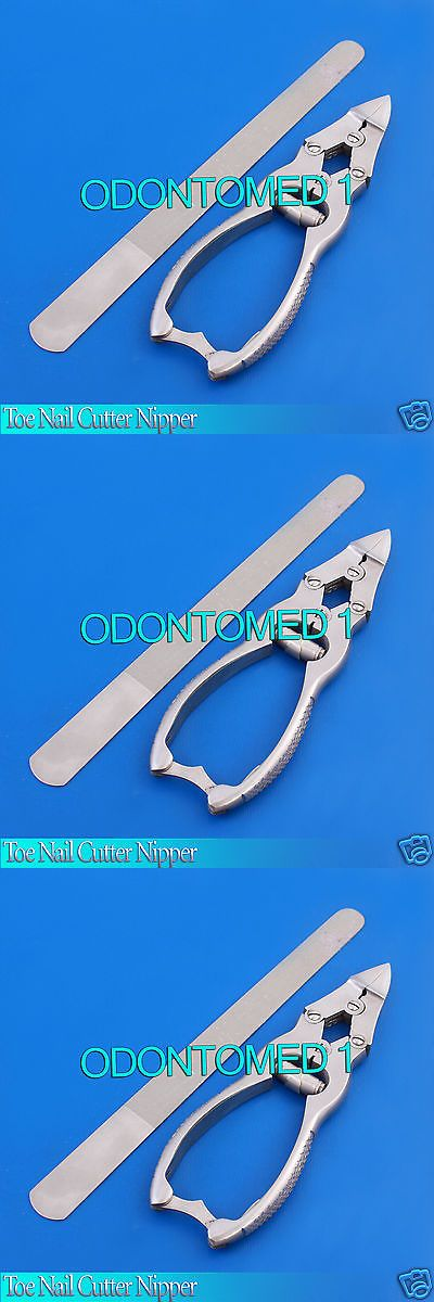Toe nail cutter nipper 4 joints trimmer + 8\