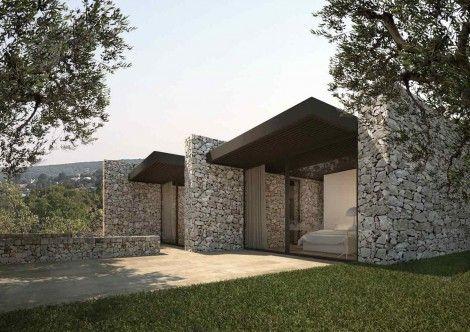New build in ostuni holiday house architettura casa for Case contemporanee