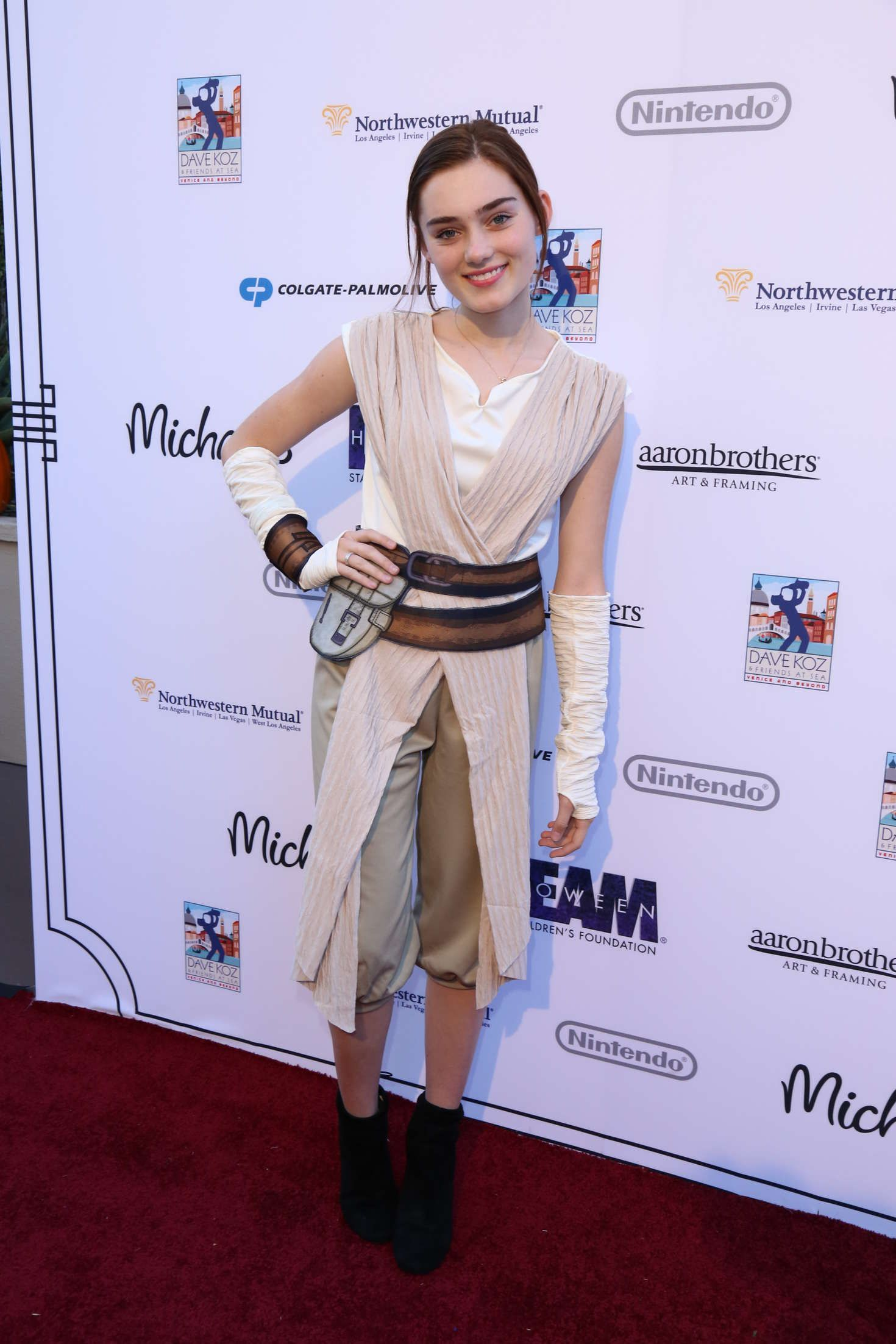 Meg Donnelly Starlight's Dream Halloween Party in Los