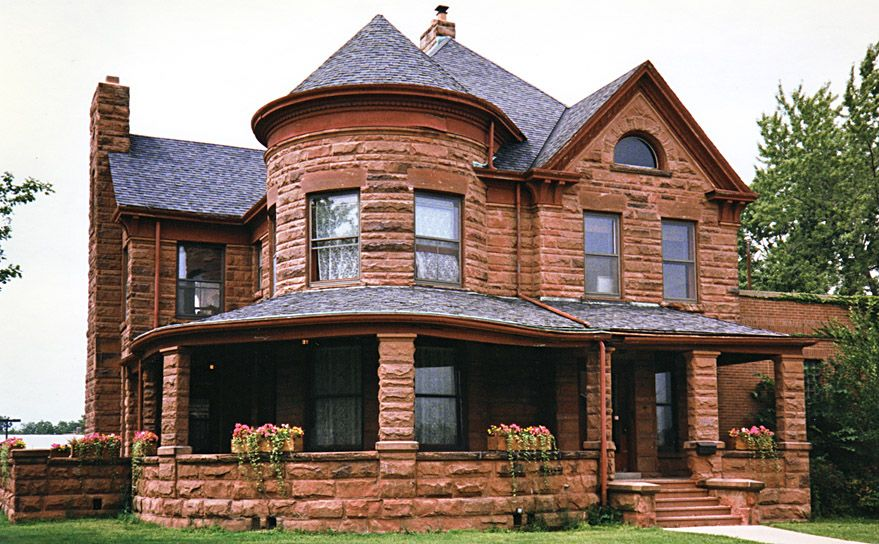Dave S Victorian House Site Illinois Gallery Victorian Homes Small Victorian House Octagon House